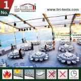 투명한 결혼식 천막 판매를 위한 상업적인 큰천막 공간 PVC 지붕
