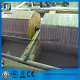 Kundenspezifische Drucken-Toiletten-Abschminktuch-Papierherstellung-Maschine färben