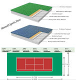 2017 piso de deporte caliente del tenis del PVC de la venta