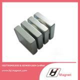De super Macht paste de Permanente Magneet van het Blok van het Neodymium NdFeB N40 aan