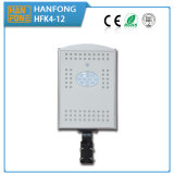Luz de rua solar a favor do meio ambiente do diodo emissor de luz com certificação da qualidade do Ce (HFK4-12)
