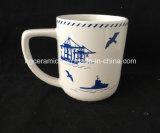 tazza di caffè di ceramica 11oz, tazza di stampa della decalcomania 11oz, nuova figura