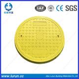 En124 FRP SMC SGS BMC 합성 맨홀 뚜껑 D400