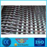 Rinforzo Geogrid dell'asfalto del poliestere lavorato a maglia involucro ad alta resistenza del rivestimento del PVC