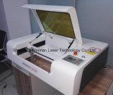 Миниый гравировальный станок лазера 300*500 mm для PVC