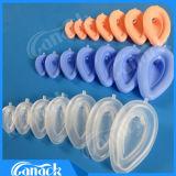 Ce & vie respiratorie laringee della mascherina del silicone a gettare approvato di iso