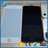 3D完全なカバー絹プリントiPhone 7のための白い緩和されたガラススクリーンの保護装置