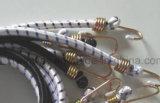 Corda elástica de borracha da bagagem do metal redondo do estilo