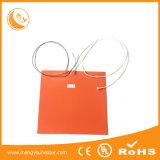 calefator Heated do silicone do elemento da roupa 100X150
