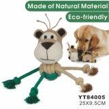 자연적인 대마 대화식 개 장난감 (YT84005)