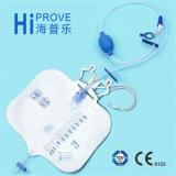T Value Disposable Luxury Urine Meter Drainage Bag 또는 Urine Bag