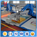 Neueste automatische ovale Textilbildschirm-Drucken-Maschine