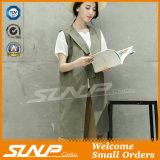 Nuove donne di modo che coprono il rivestimento della tela del cotone di estate