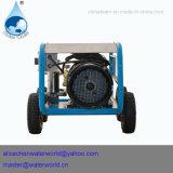 Agua hidráulica 300bar del producto de limpieza de discos de alta presión que arruina la cortadora del CNC