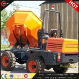 180 Degree Swiving Bucket를 가진 3.0ton Front Wheeled 사이트 Dumper