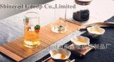 Cuvette de thé créatrice en verre de Borosilicate de tasse de thé de cuvette en verre claire de cadeau
