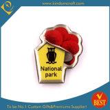 Distintivo di Pin della sosta nazionale in acciaio inossidabile con epossidico