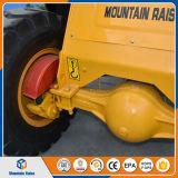Carregador da roda da exploração agrícola do carregador da parte dianteira do carregador do motor do gramado