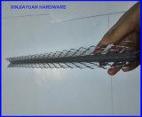 Усиливать шарик гипсолита/штукатурки расширенный углом угловойой