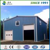 Costruzione prefabbricata della struttura d'acciaio per il gruppo di lavoro del magazzino dell'ufficio