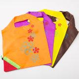Durable рециркулируя складную хозяйственную сумку полиэфира для промотирования