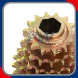 Fileiras múltiplas da melhor qualidade das rodas dentadas que soldam rodas dentadas
