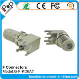 RFのコネクターのためのBNC F Kd6a7の同軸コネクタのコネクター