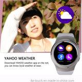 ECGの測定を用いるBluetoothの腕時計の携帯電話