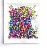 Heiße Verlegenheits-Metallstift-Nagel-Kunst Leuchtstoff NeonNailhead (FB-2mm Neonnailhead)