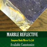Glace d'intérieur de marbre de type de l'Italie de décor en verre de configuration de granit