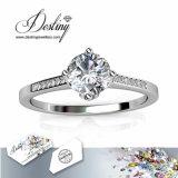 Het Kristal van de Juwelen van het lot van de Briljante Ring van de Prinses Swarovski