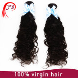 Hotsale 7A GradeブラジルのVirgin Deep Wave Curly Human Hair Extension About 95-100g/PC、12-32inches