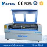 Máquina de gravura Akj1610h da estaca do laser do metal e do metalóide