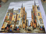 Hintergrund-Entwurfs-Mosaik, Kunst-Muster-Mosaik-Wand-Fliese (HMP890)