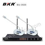 Système sans fil de microphone de conférence de fréquence ultra-haute du professionnel Bu-3920