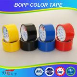Cinta coloreada del embalaje de BOPP