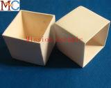 Feine Polieroberflächentonerde-keramischer Tiegel