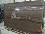 Сляб Афиныы серый деревянный мраморный для вымощая камня, украшения стены