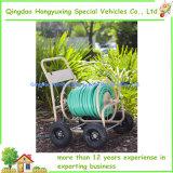 Wasser-Schlauch-Bandspule-Karre für im Freienyard-Garten-wässerngerät