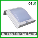 Lampe de mur solaire extérieure lumineuse du type neuf DEL pour le jardin