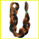 黒およびブラウンの総合的な毛の拡張