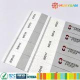 Kundenspezifische Festival-Wegwerfpapier IdentifikationWristbands für Ereignisse