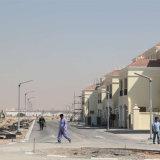 La Chine fabrique des lampadaires solaires pour le jardin et la rue