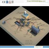 ディーゼルリサイクル機械10tpd蒸留器への熱分解オイル