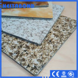 Exterialの壁パネルPVDFは大理石のAlucobondsを耐火性にする