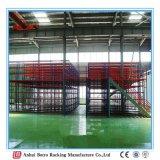 高層作業プラットホーム、頑丈な倉庫の棚の中国の記憶の中二階