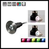 1W 고성능 LED 수중 빛