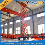 Il grande elevamento esterno idraulico mobile motorizzato Scissor la piattaforma di sollevamento