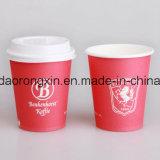 Papel común de la taza con la capa del PLA