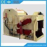 tipo triturador Chipper de madeira elétrico do cilindro 5-8t/H com certificado do Ce